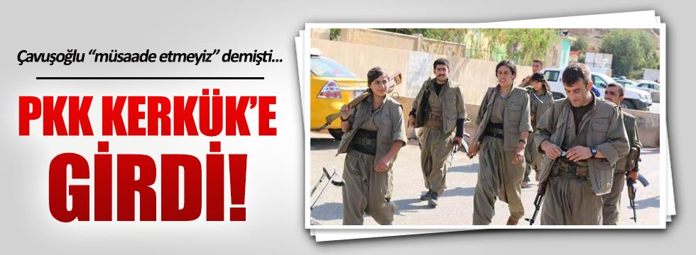 PKK Kerkük'e girdi!