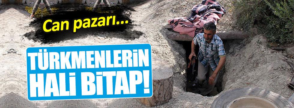 Suriye ve PKK kıskacındaki Türkmenler yer altında yaşıyor