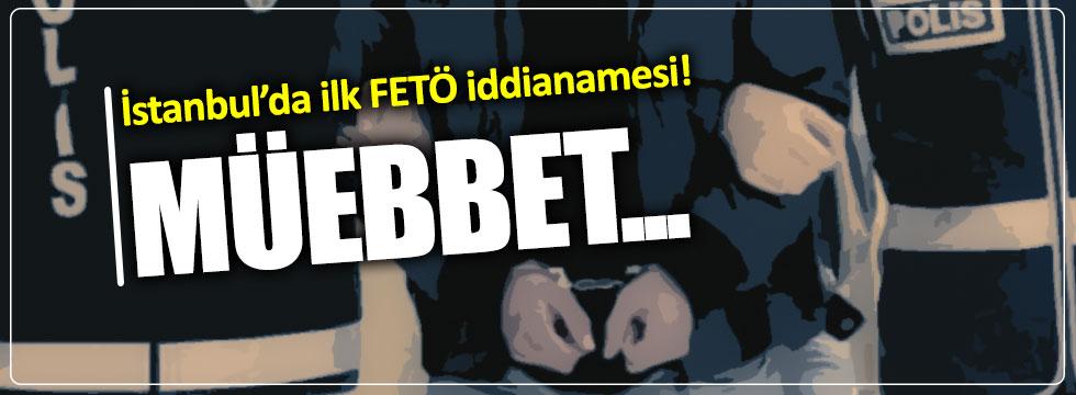 İstanbul'da ilk FETÖ iddianamesi