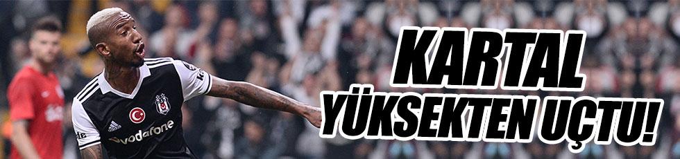 Beşiktaş Antalyaspor önünde zorlanmadı