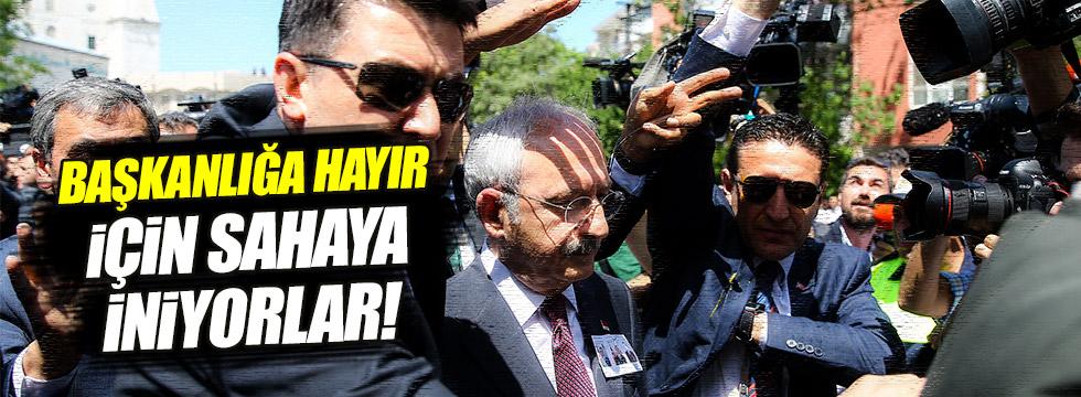 CHP, 'Başkanlığa hayır' için sahaya inecek