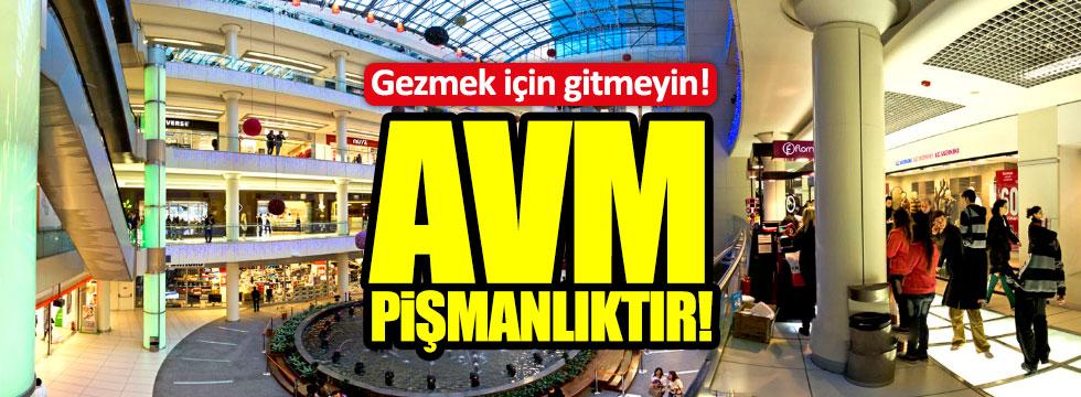 AVM gezerken dikkat edin!
