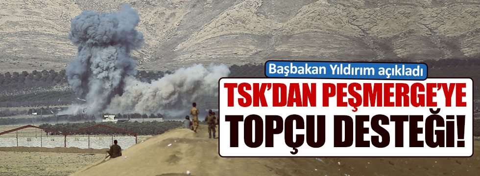 TSK'dan Barzani'ye destek