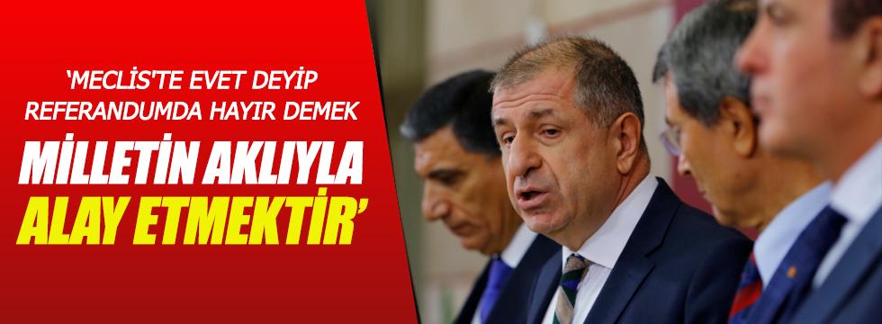 MHP'li vekiller Başkanlık kararına tepki için TBMM'de toplandı