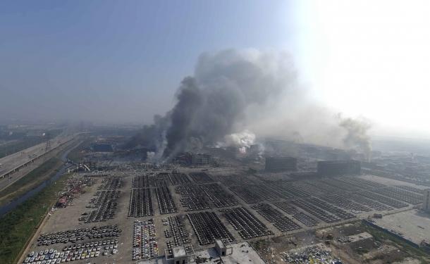 Çin'de patlama! Çok sayıda ölü ve yaralı var
