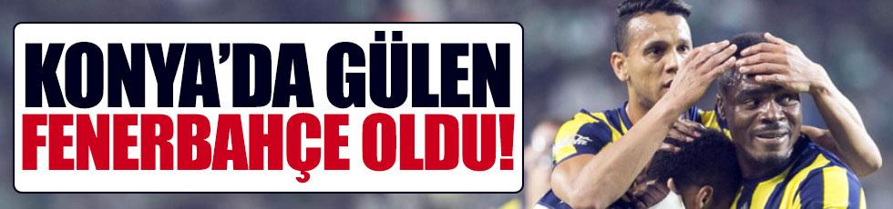 Fenerbahçe Konya'da kazandı