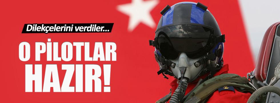 Gönüllü pilotlar hizmet için hazır!