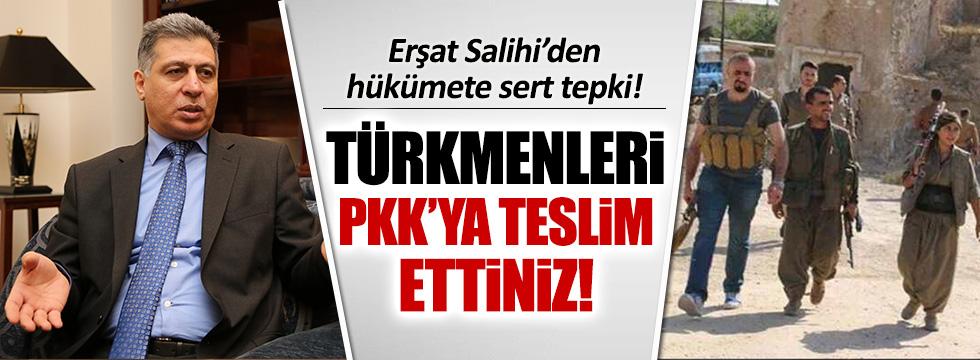 Erşat Salihi: Türkiye, Türkmenleri PKK'ya teslim etti