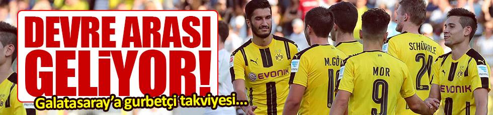 Galatasaray'a Nuri Şahin takviyesi