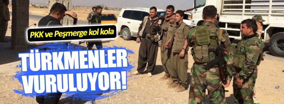 'Müttefik' Barzani, PKK ile Türkmen katliamı yapıyor