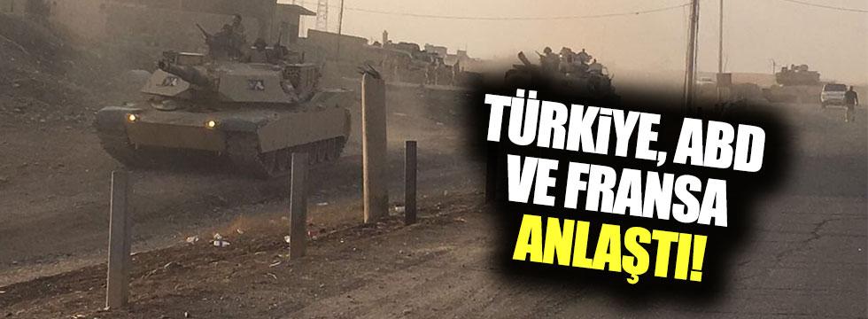 ABD, Fransa ve Türkiye arasında uzlaşı