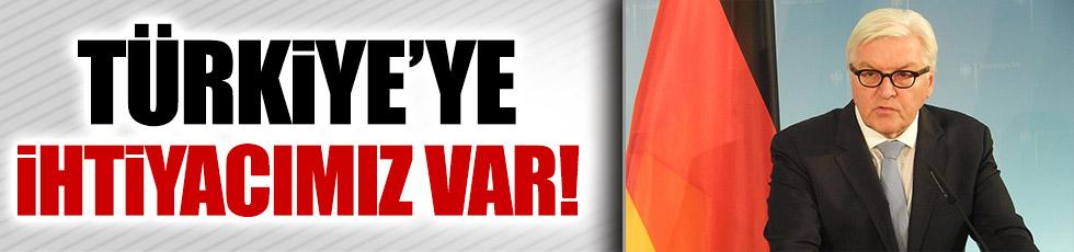 Almanya Dışişleri: Türkiye'ye ihtiyacımız var