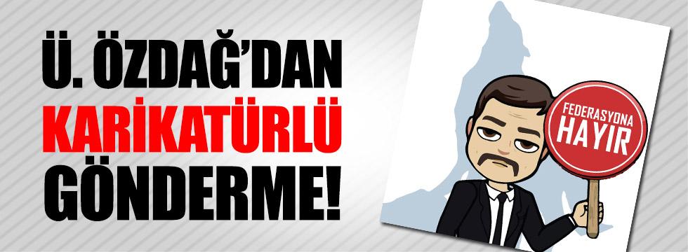 Ümit Özdağ'dan Başkanlık sistemine karikatürlü tepki