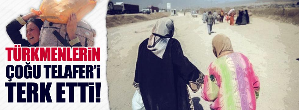 Özgündüz; Türkmenlerin çoğu Telafer'i terk etti