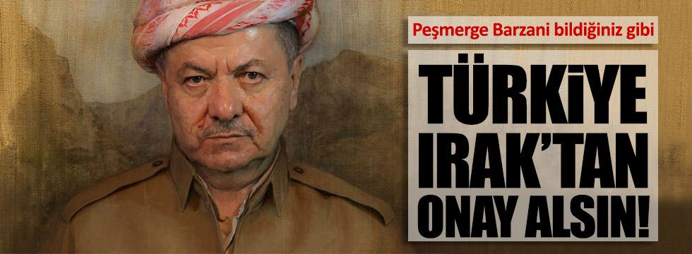 Peşmerge Barzani, Türkiye ile dalga geçti!