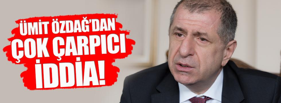 Ümit Özdağ'dan çok çarpıcı 'Telafer' iddiası