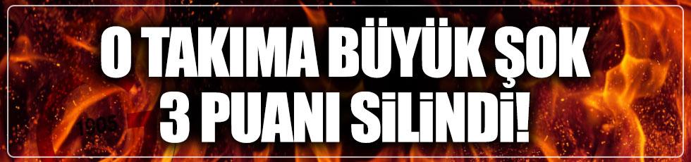 Eskişehirspor'a ağır fatura