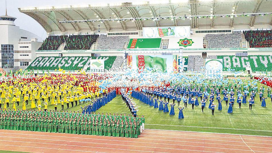 Türkmenistan'da bağımsızlığın 25. yılı