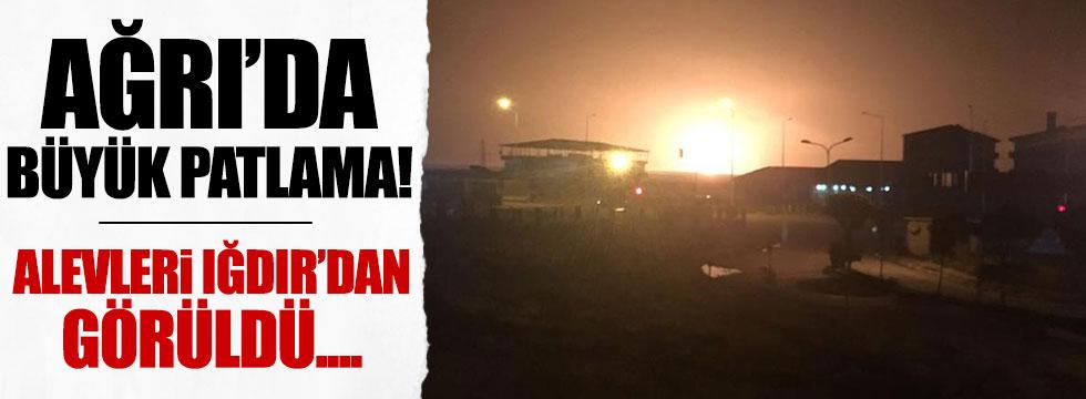 Türkiye İran doğalgaz hattında patlama
