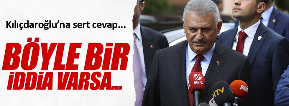 Yıldırım'dan, Kılıçdaroğlu'na cevap