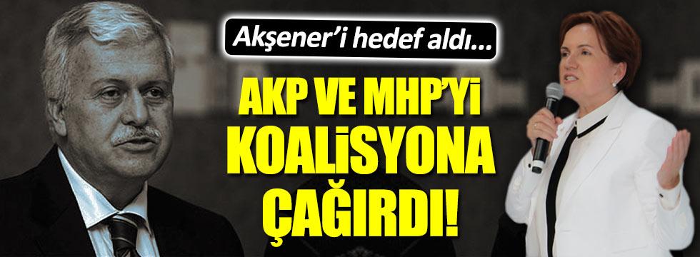 Gülen'in 1 numaralı adamından AKP ve Bahçeli'ye çağrı