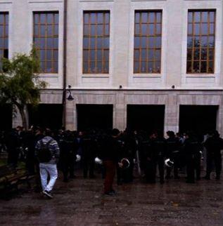 İstanbul Üniversitesi'nde Ülkücülere saldırı
