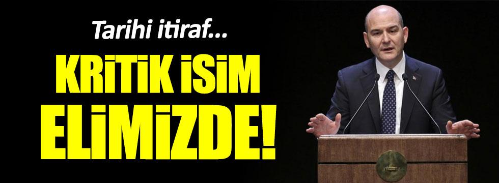 Süleyman Soylu: PKK'nın önemli bir yöneticisi elimizde