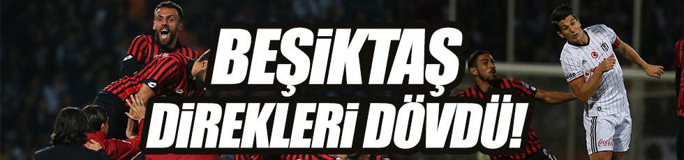 Beşiktaş'la Gençlerbirliği yenişemedi