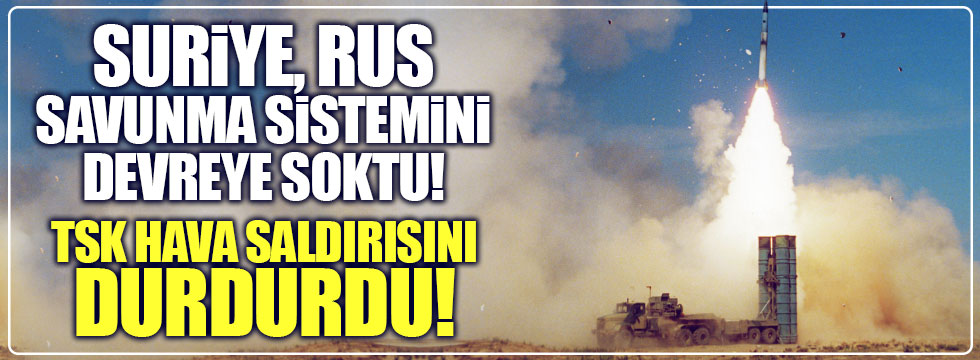 Suriye, Türkiye'nin hareket alanını daralttı!