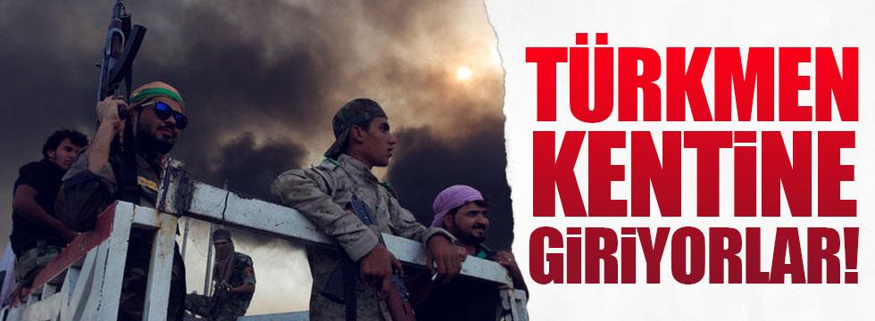 Haşdi Şabi, Türkmen kentine giriyor