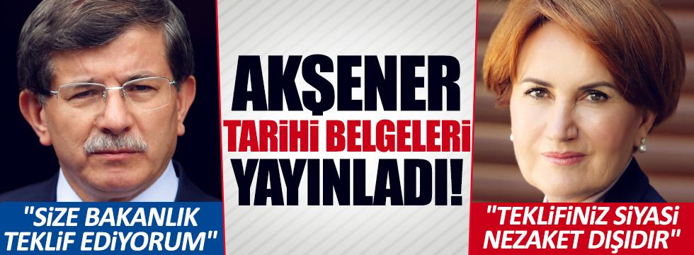 Akşener'e başbakan yardımcılığı böyle teklif edilmiş!