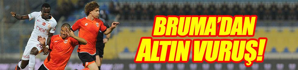 Galatasaray Adanaspor'u tek golle geçti