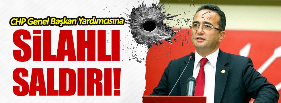 CHP Genel Başkan Yardıcısı Tezcan'a silahlı saldırı