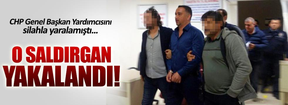 Bülent Tezcan'a saldıran saldırgan yakalandı