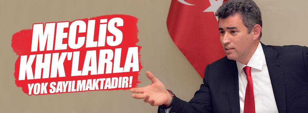 """Feyzioğlu: """"Meclis, KHK'larla yok sayılmaktadır"""""""