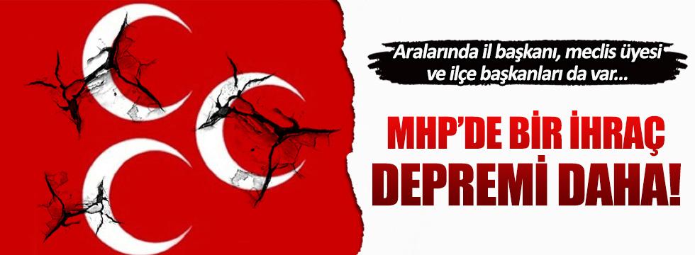 MHP Antalya'da ihraç depremi!