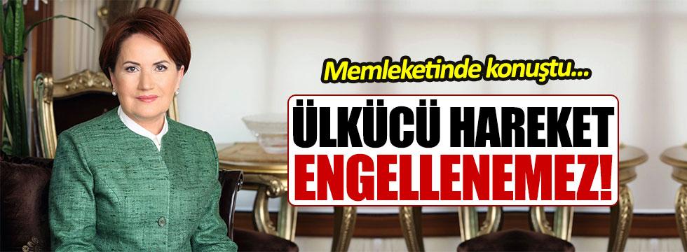 Akşener Kocaeli'den seslendi