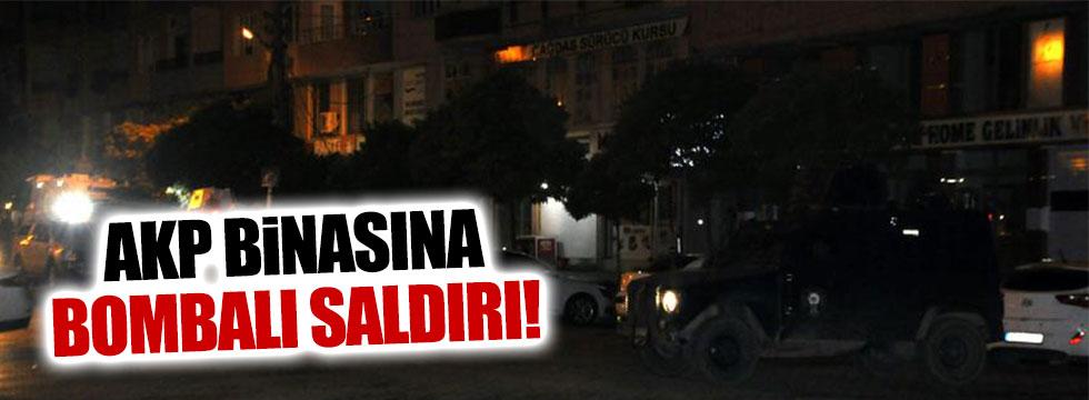 Mardin'de AKP İlçe binasına bombalı saldırı