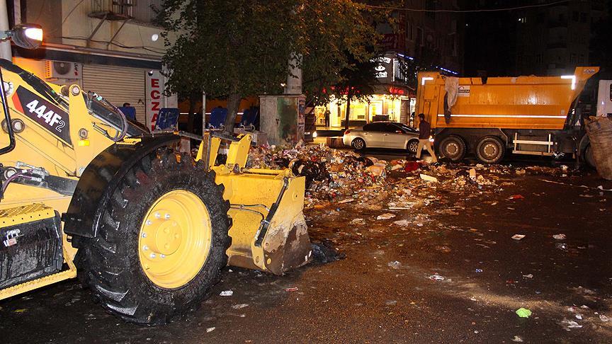 Diyarbakır'ı temizlemeye o belediye geldi