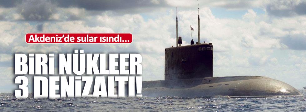 Rusya Akdeniz'e nükleer denizaltı gönderdi