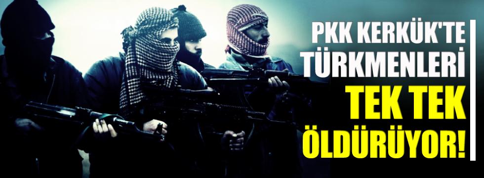 PKK Kerkük'te Türkmen kıyımına başladı!