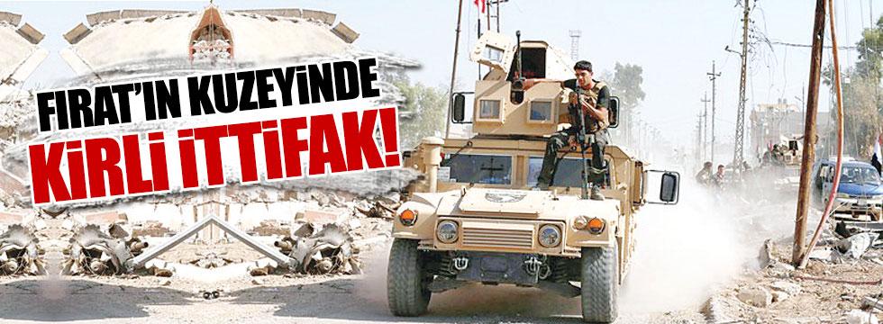 IŞİD terk ediyor PKK yerleşiyor!
