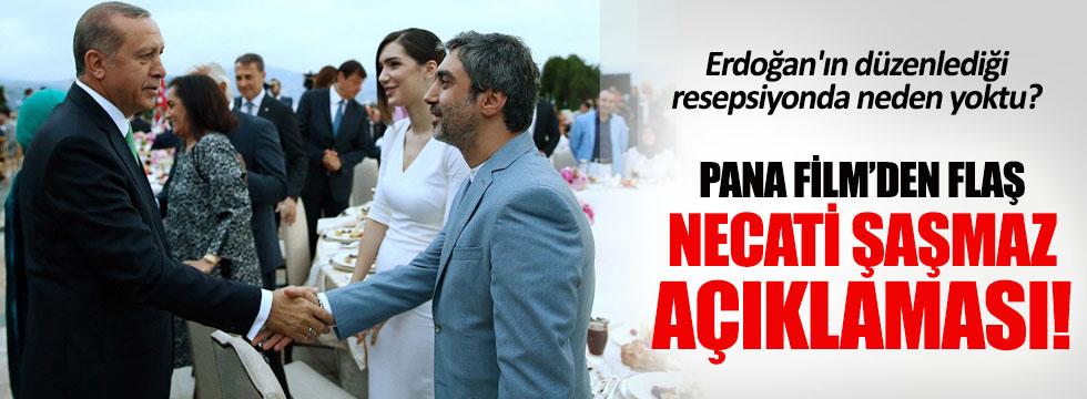 Pana Film'den Necati Şaşmaz'la ilgili açıklama