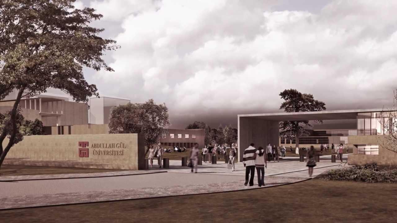 Abdullah Gül Üniversitesi'nde FETÖ Operasyonu