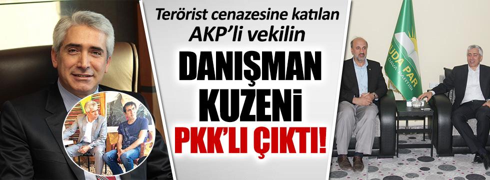 AKP'li vekilin danışmanlığını yapan kuzeni PKK'lı çıktı