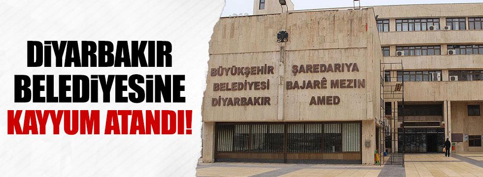 Diyarbakır Büyükşehir Belediyesi'ne kayyum atandı!