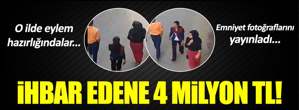 Siirt'te aranan 2'si kadın 3 PKK'lının fotoğrafı dağıtıldı