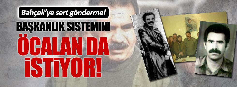 Bahçeli'ye çok sert Öcalan örneği
