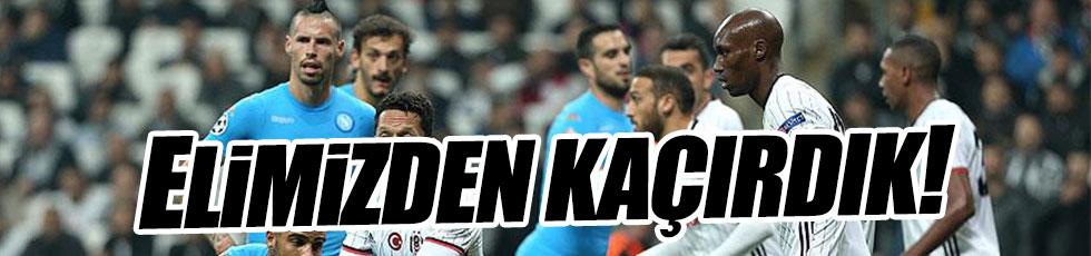 Beşiktaş 1-1 Napoli / Maç özeti