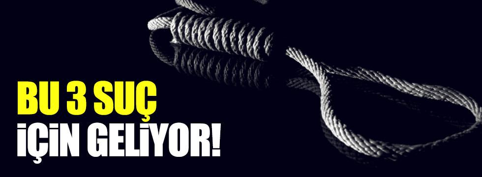 İdam cezası hangi suçlar için geliyor?
